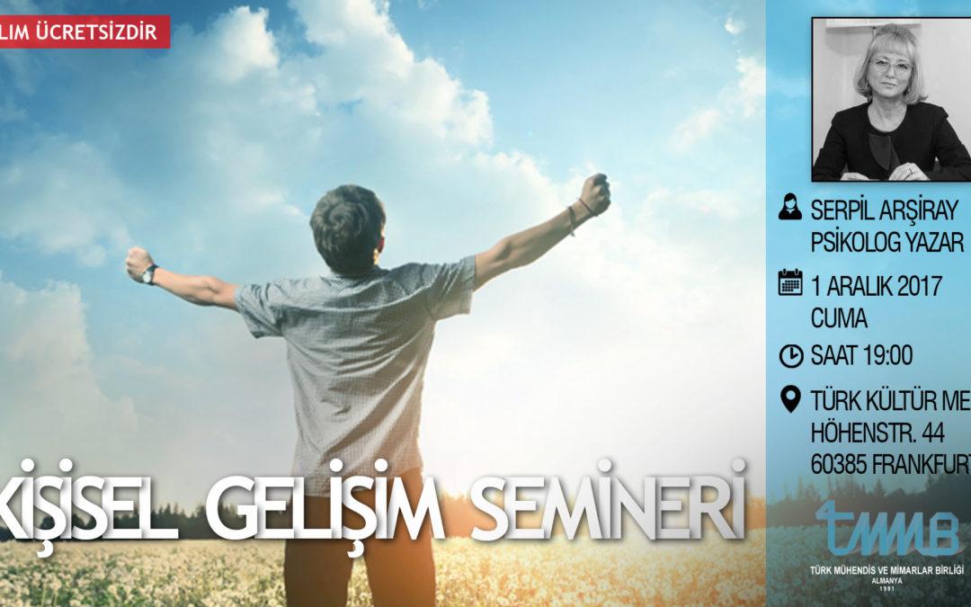 Kişisel gelişim, kendini iyileştirme – Serpil Arsiray